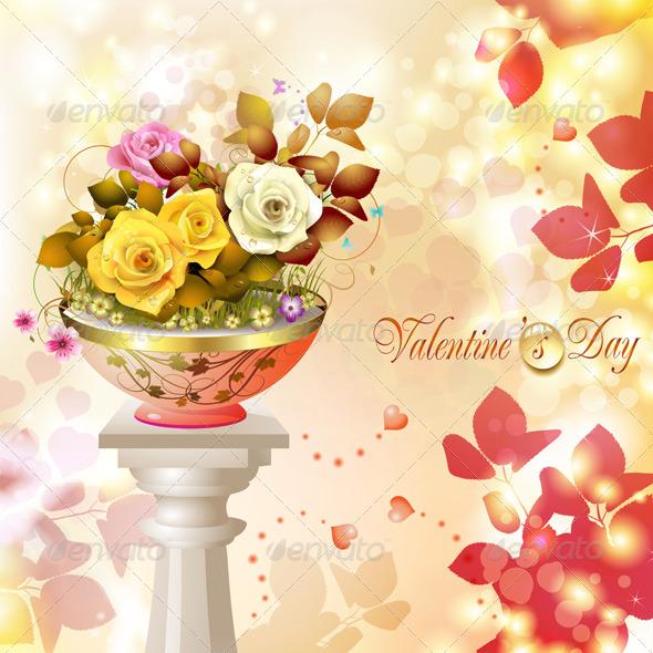 GraphicRiver Valentine s Day Card 5531407