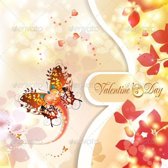 GraphicRiver Valentine s Day Card 5531417