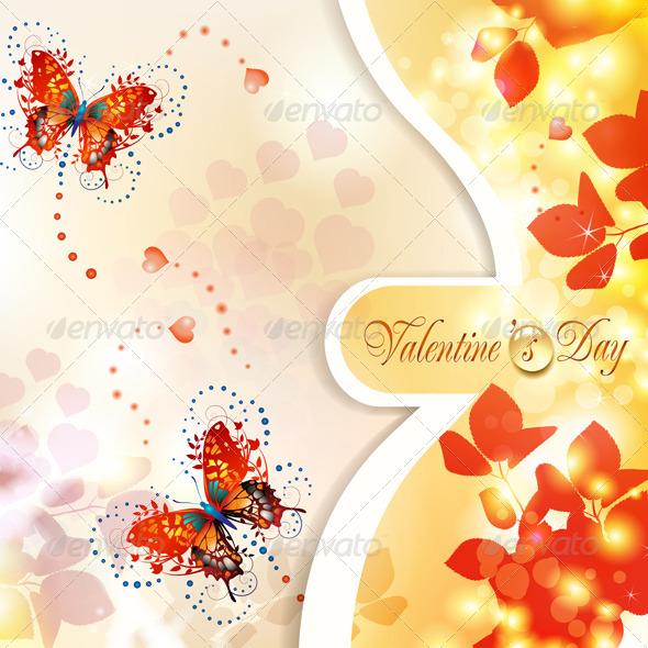 GraphicRiver Valentine s Day Card 5531437