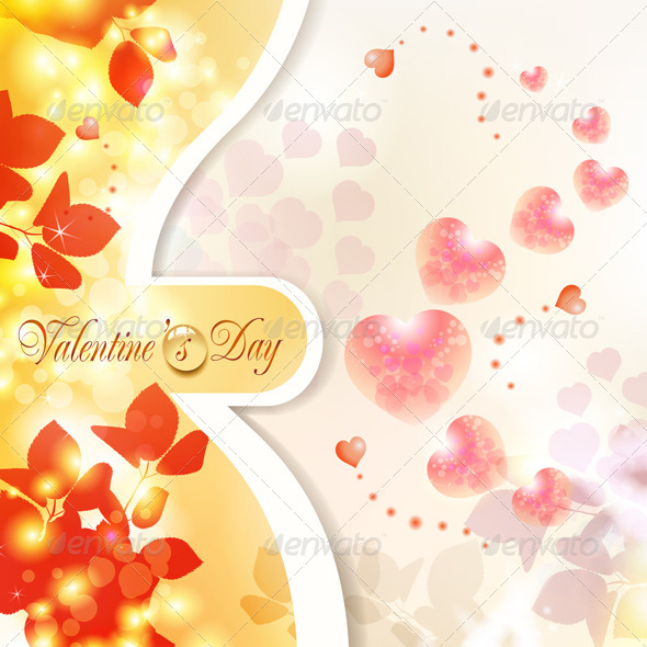 GraphicRiver Valentine s Day Card 5531444
