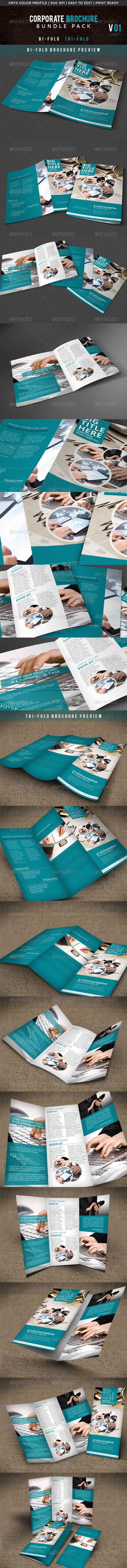 GraphicRiver Corporate Brochure Bunlde V 01 5531480