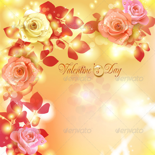 GraphicRiver Valentine s day card 5531528