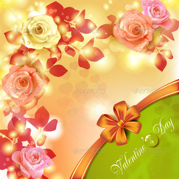 GraphicRiver Valentine s day card 5531549