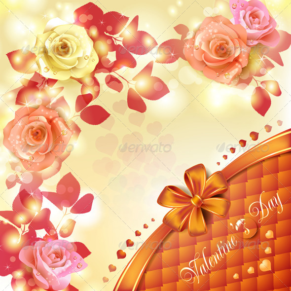 GraphicRiver Valentine s day card 5531554