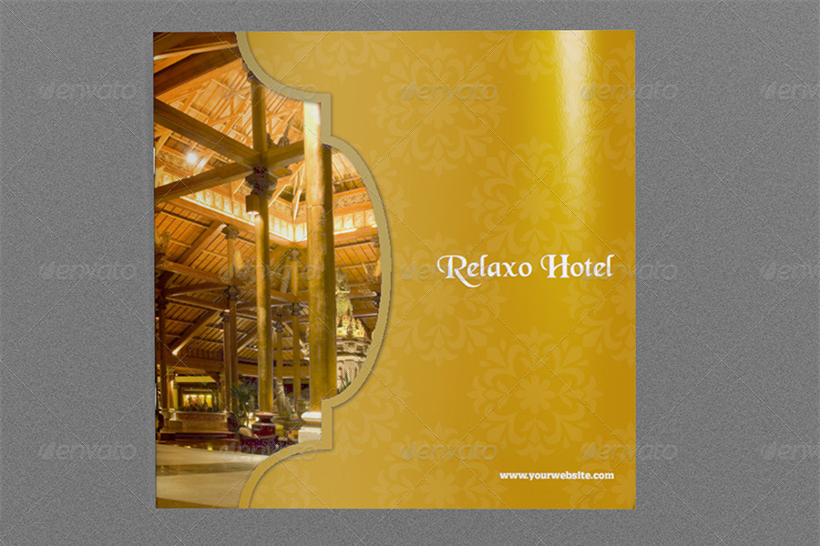 Hotel and Motel Brochure Template 12 Pages by OWPictures – Hotel Brochure Template