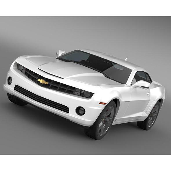 3DOcean Chevrolet Camaro EUVersion 2012 5531842