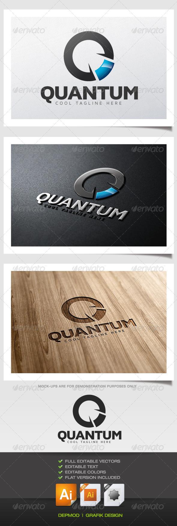 GraphicRiver Quantum Logo 5531858