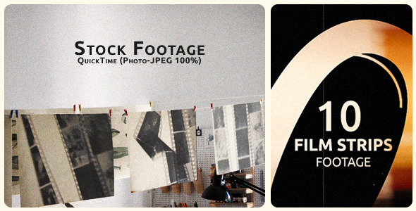 VideoHive Film Strips Package 5532151