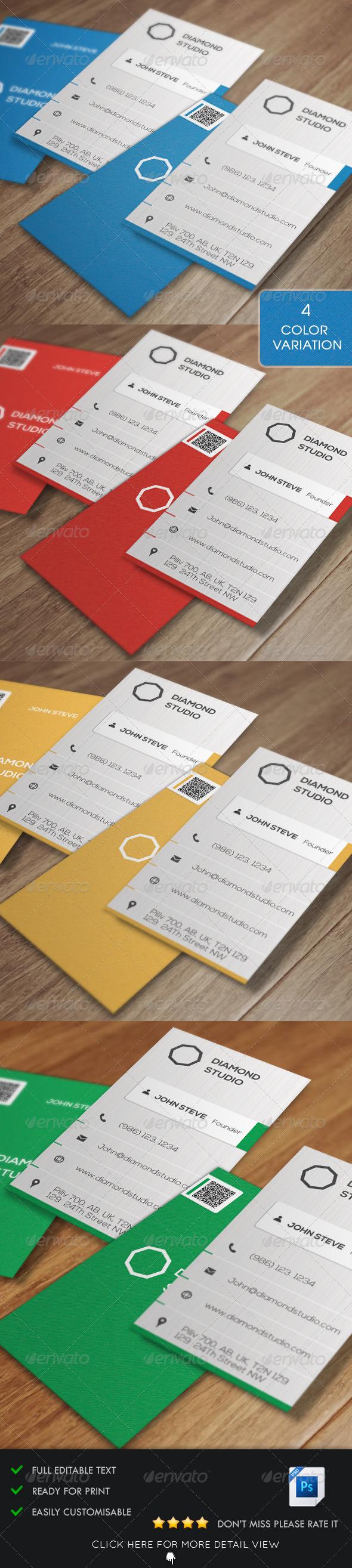 GraphicRiver Corporate Business Card v6 5532320