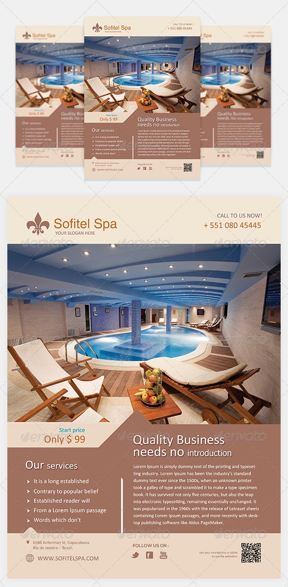 GraphicRiver Spa Flyer Template Vol 1 5532366