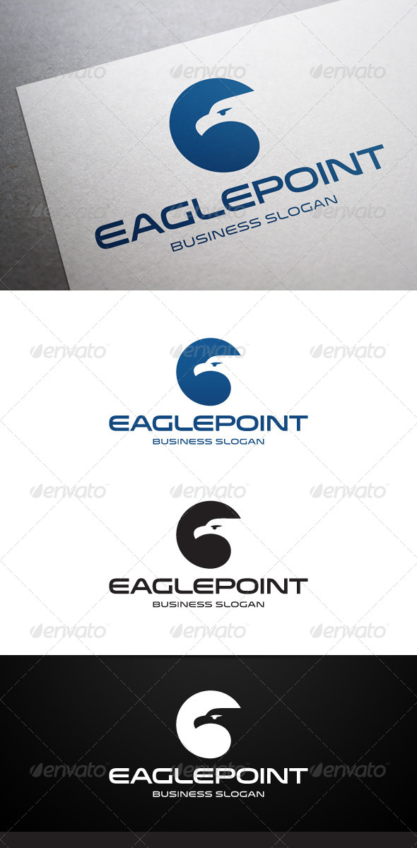 GraphicRiver Eagle Point Logo 5532668