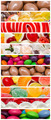 Sweet Confectionery Background Collage - PhotoDune Item for Sale