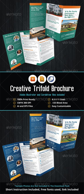 GraphicRiver Creative Trifold Brochure 5533058