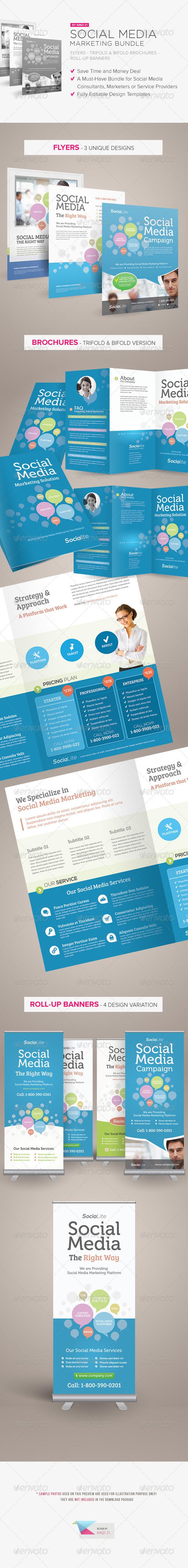 GraphicRiver Social Media Marketing Bundle 5504126