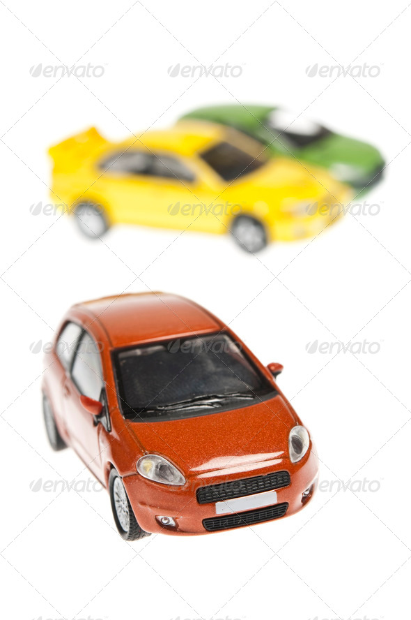 Three cars - Stock Photo - Images