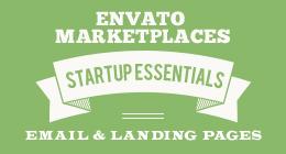 Landing Page Designs & Newsletter Templates for Startups