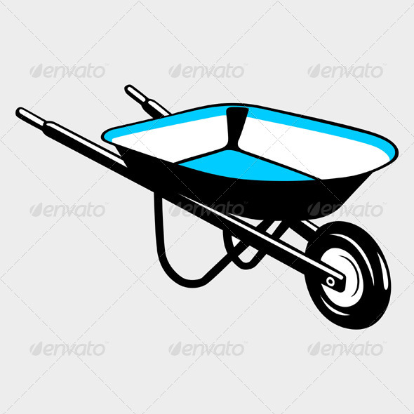 GraphicRiver Wheelbarrow 5535463