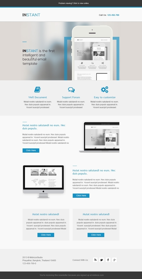 Instant - Business Responsive Email Template