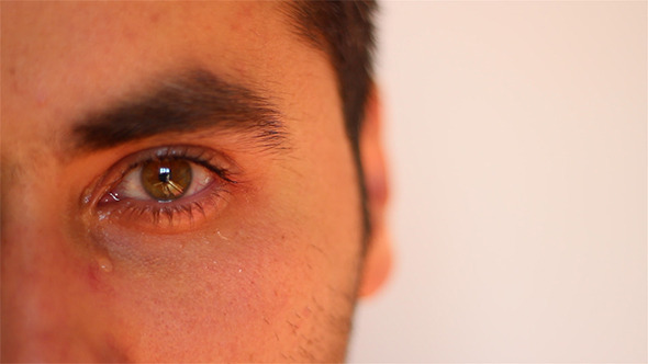 VideoHive Man Crying Close Up 5536990