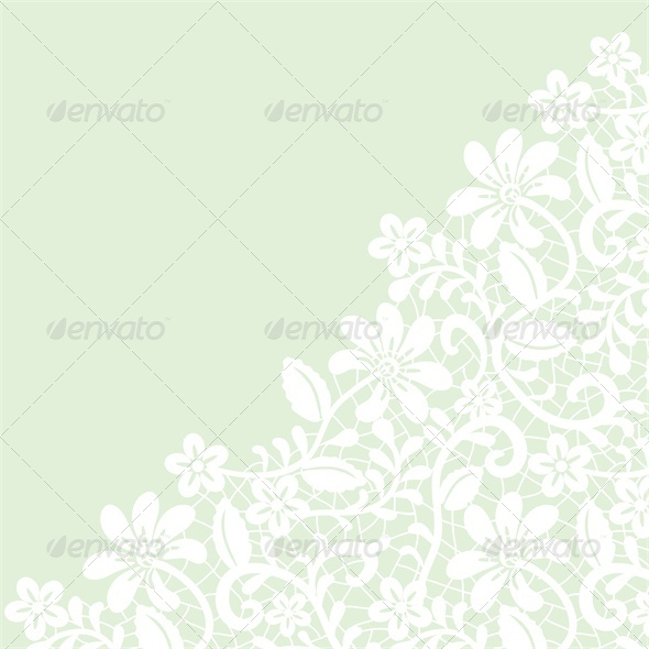 GraphicRiver Lace Fabric Background 5537082
