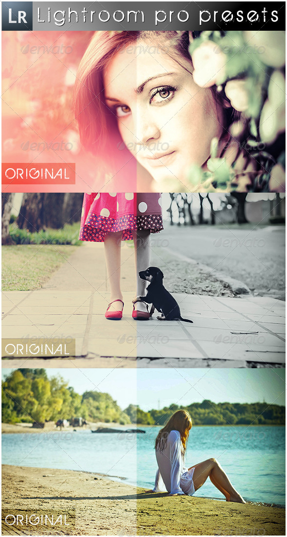 GraphicRiver 13 Mixed Pro Presets 5537719
