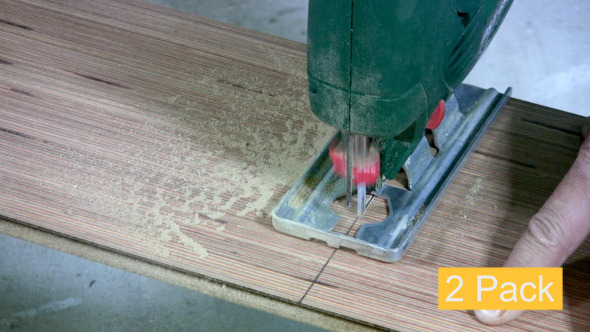 VideoHive Sawing Laminate 2-Pack 5538388