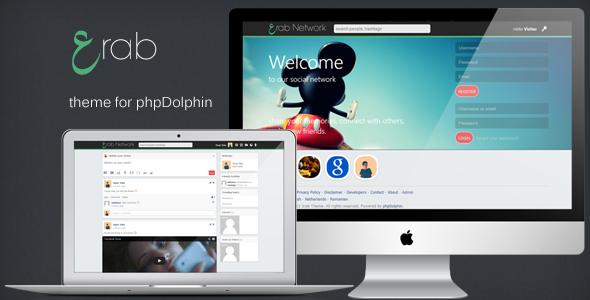 CodeCanyon 3rab Theme for phpDolphin 5538391