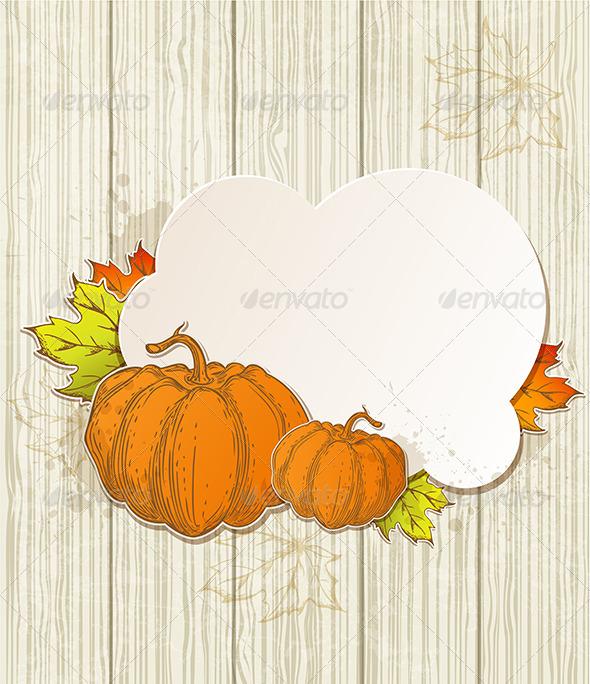 GraphicRiver Autumn Background 5538482