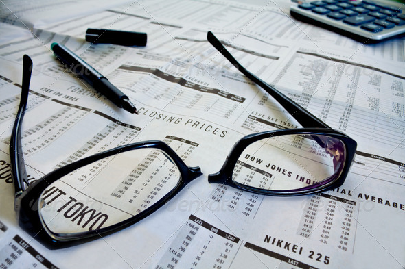 Stock Markets  - Stock Photo - Images