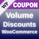 WooCommerce Volume Discount Coupons - CodeCanyon Item for Sale
