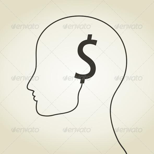 GraphicRiver Dollar a head 5539743