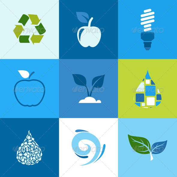 GraphicRiver Ecology Icon 2 5539754