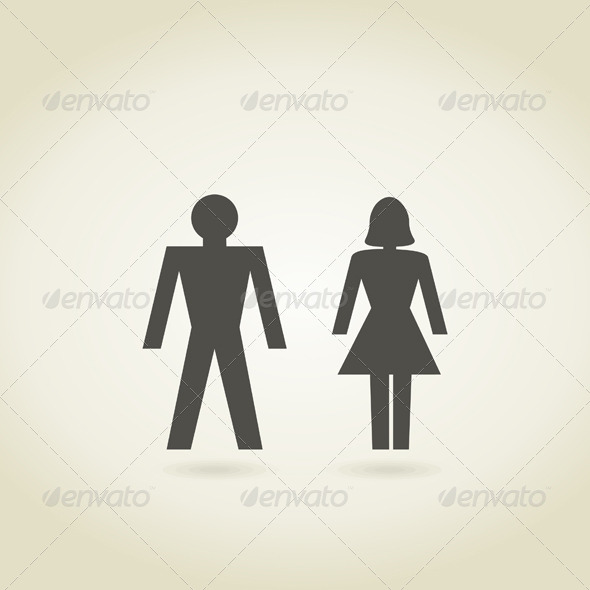 GraphicRiver Man and Woman 5540031