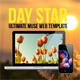 Day Star One Page Muse Template - ThemeForest Item for Sale