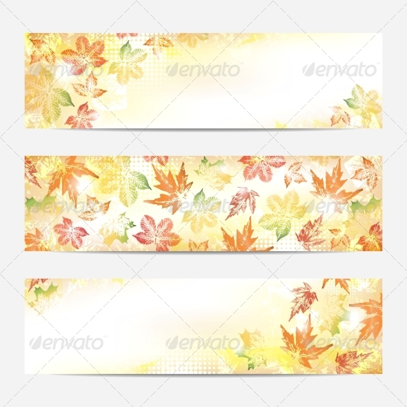 Collection of Autumn Banners
