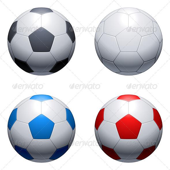 GraphicRiver Soccer Balls 5540525