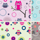 Owls Patterns - GraphicRiver Item for Sale