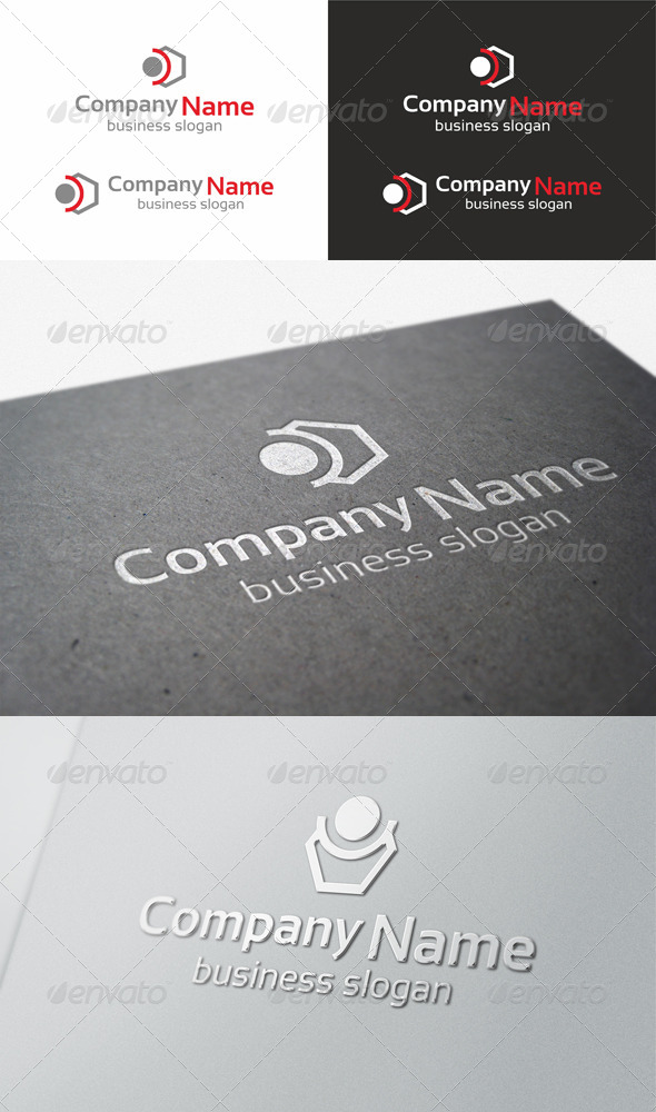 Minimal Vector Logo - Abstract Logo Templates