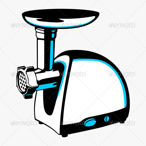 GraphicRiver Meat Grinder 5540571