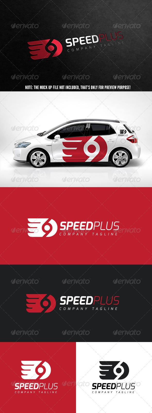 GraphicRiver Speed Plus Logo 5540754