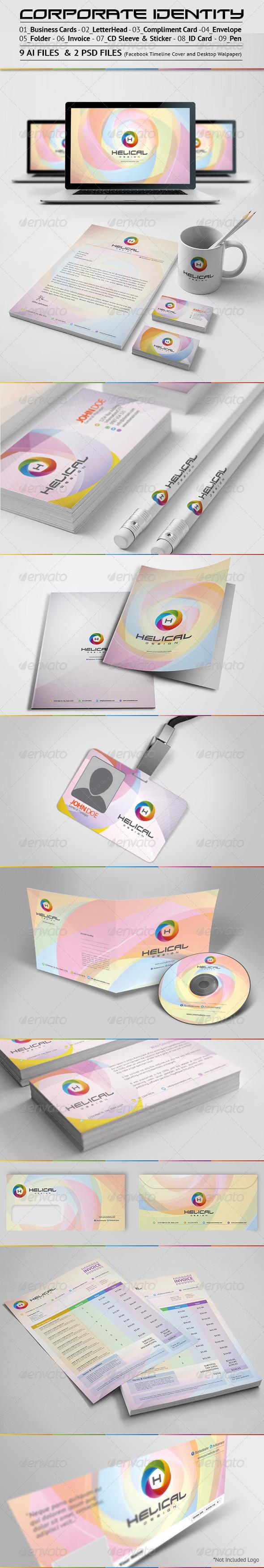 Corporate Identity Branding Pack