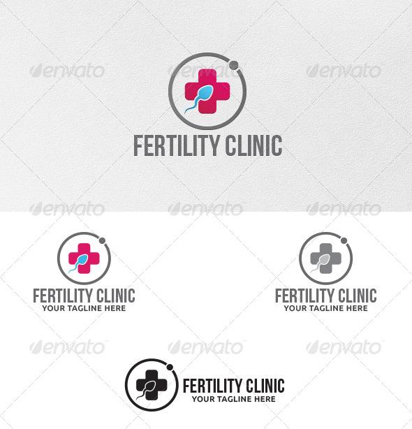 GraphicRiver Fertility Clinic Logo Template 5541984