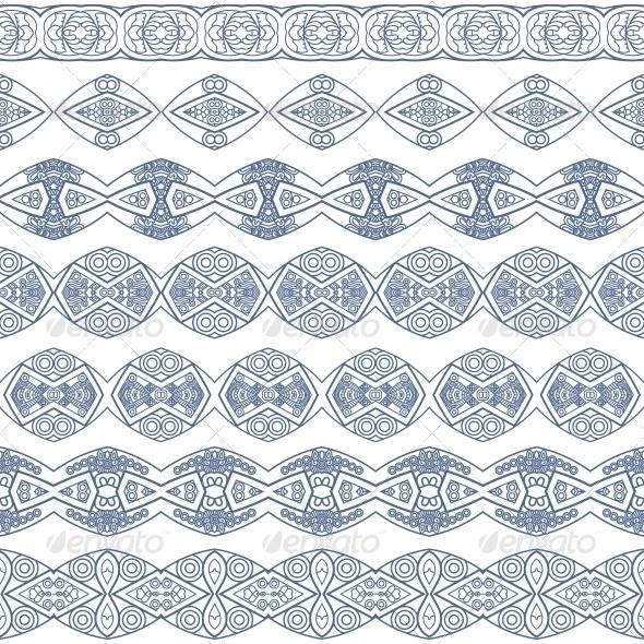 GraphicRiver Ornamental Seamless Pattern 5542205