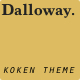 Dalloway - ThemeForest Item for Sale