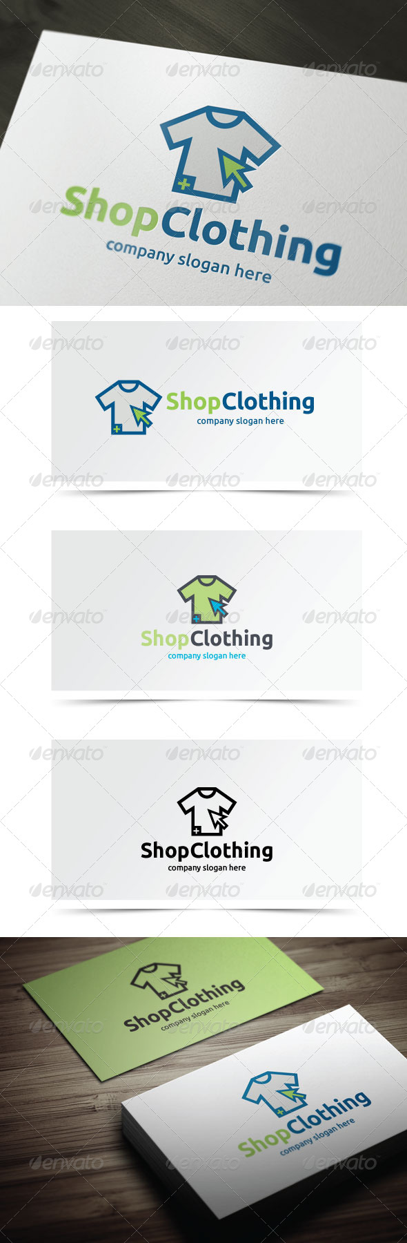GraphicRiver Shop Clothing 5542401