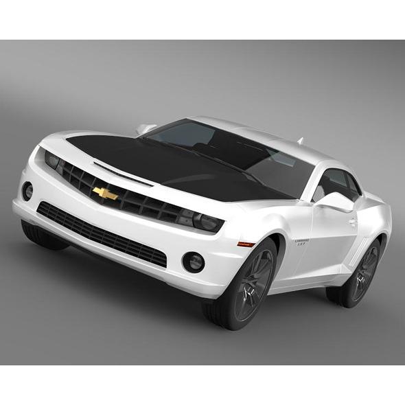 3DOcean Chevrolet Camaro LS7 2008 5542455