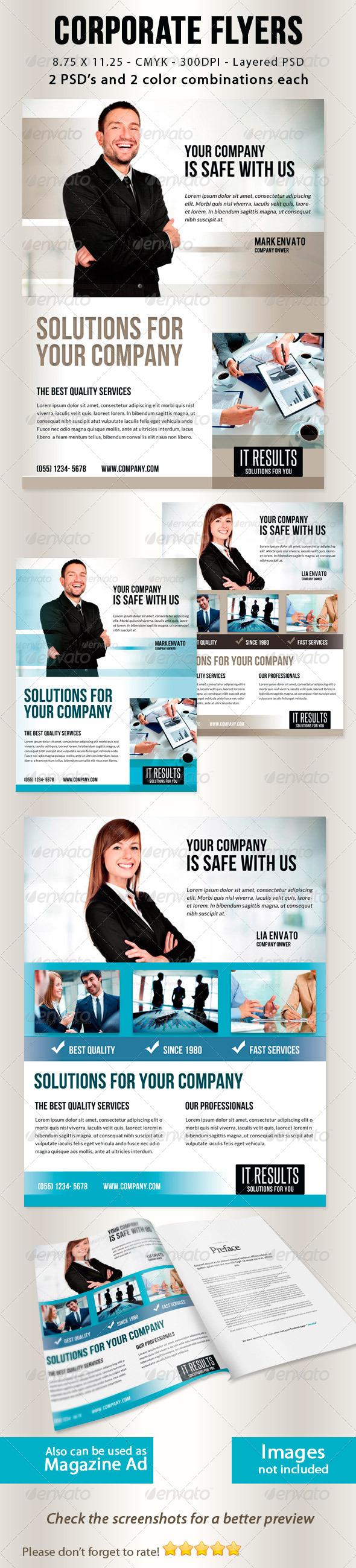 GraphicRiver Corporate Flyers vol 1 5542498