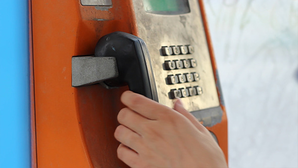 VideoHive Rusty Telephone Booth 5542505