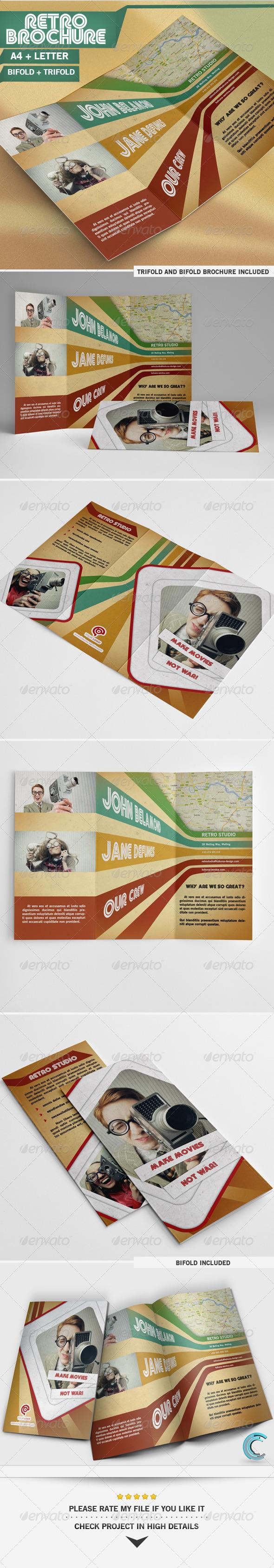 GraphicRiver Retro Brochure 5513405