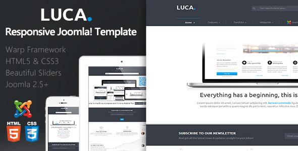 ThemeForest Luca Responsive Joomla Template 5530514